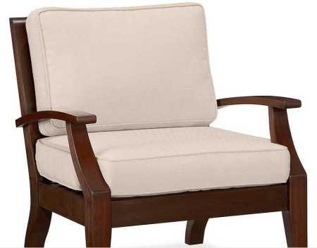 Detalle de sillón Montreaux